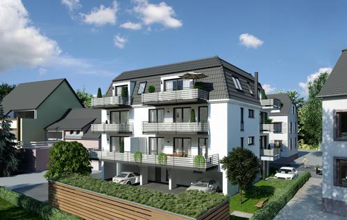 Wohnen am Glasbach: Nur noch zwei Wohnungen frei.