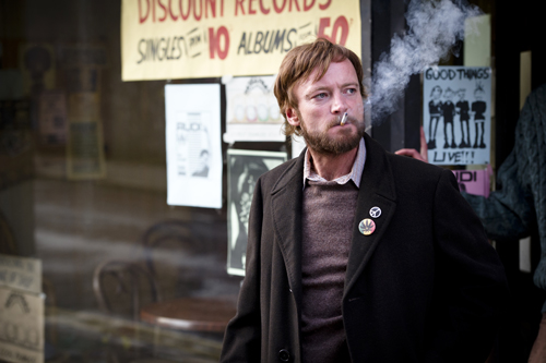 Gegen jede Logik: Terri (Richard Dormer) eröffnet mittein Belfast einen Plattenladen als Treffpunkt für Musiker und Freaks aller Art. Allen voran er selbst.