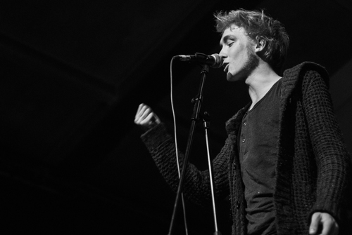 Wortkünstler: Slam-Poet Tobias Gralk.