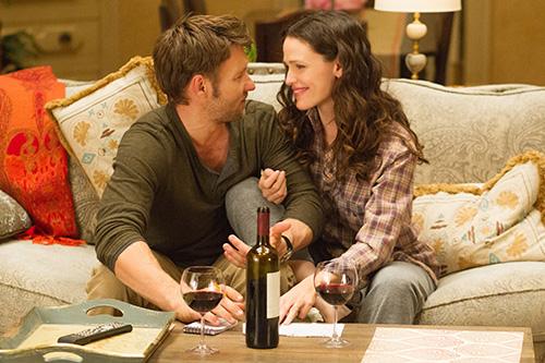 Szene mit Joel Edgerton und Jennifer Garner.