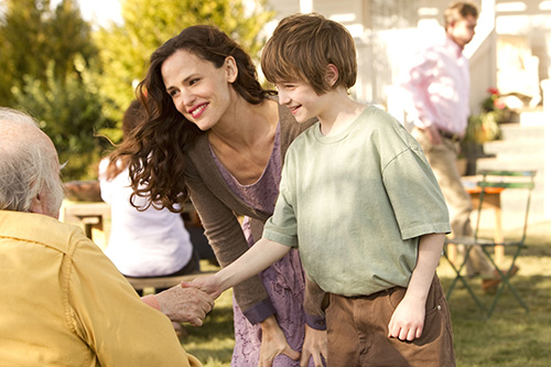 Szene mit Jennifer Garner und CJ Adams.