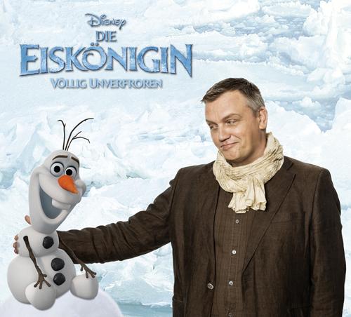 """In """"Die Eiskönigin - Völlig unverfroren"""" spricht Hape Kerkeling den animierten Schneemann Olaf: """"Wenn Disney anfragt, kann man nicht 'Nein' sagen."""""""