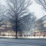 Markanter Teil der Freiburger Investitionsoffensive: Der erste Bauabschnitt des neuen Rathauses wird rund 80 Millionen Euro kosten.