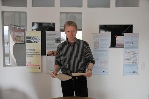 Heiko Wegemann erforscht die Freiburger Kolonialgeschichte.