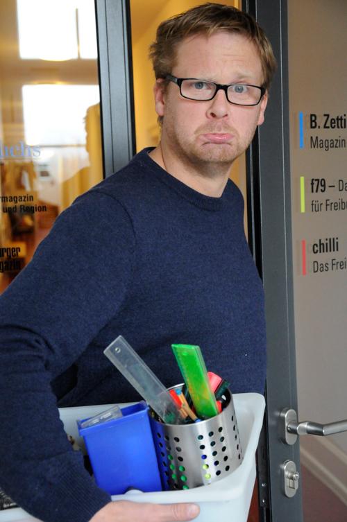 chilli Redakteur Felix Holm hat uns verlassen um in sein alten Beruf zurück zukehren.