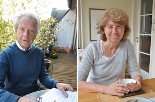 Mit dem Tod vertraut: Eike Schüler und Regine Schröder sind seit vielen Jahren Hospizhelfer.
