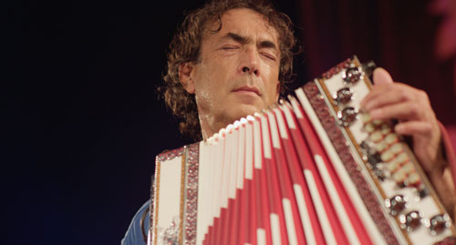 Der Poet mit der Ziehharmonika: Hubert von Goisern.