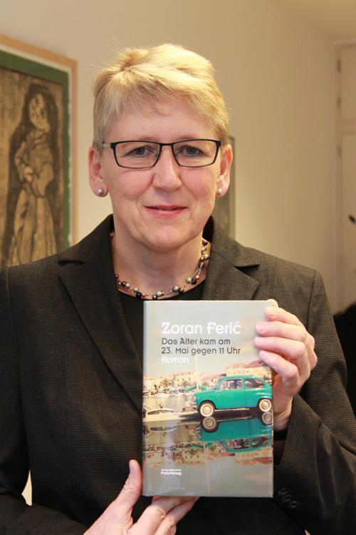 Elisabeth Willnat, 56, Direktorin der Freiburger Stadtbibliothek