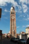 Chioggia in der Bucht von Venedig