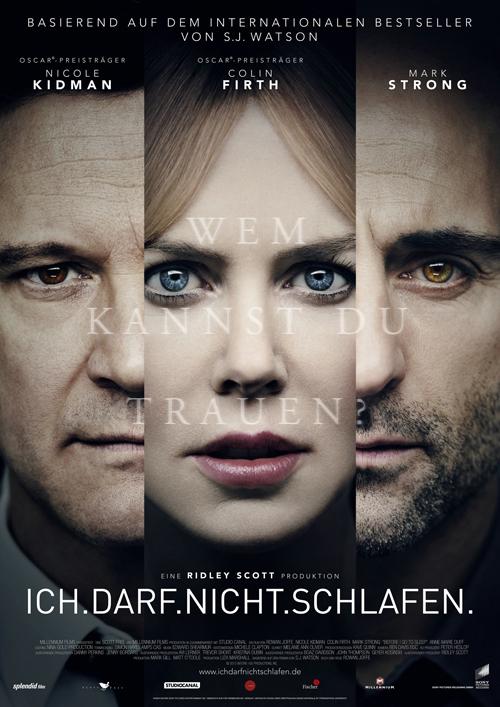 """Wem kann sie vertrauen? Christine (Nicole Kidman) erwacht in """"Ich darf nicht schlafen"""" jeden Morgen erneut und kann sich an nichts erinnern."""