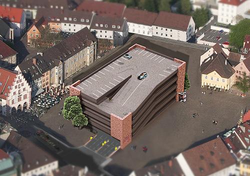 Parkhaus am Münster