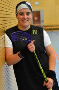 Entdeckerin: Jennifer Haun hat Floorball 2009 bei einer Tagung entdeckt und nach Freiburg gebracht.
