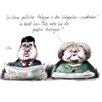 Karikatur von Klaus Stuttmann.