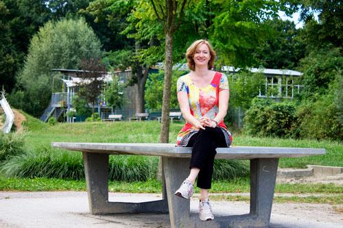 Bundestagswahl-Kandidatin Kerstin Andreae