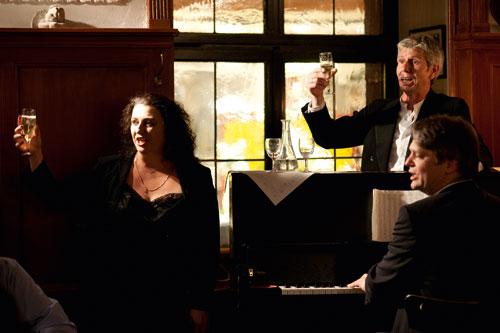 """Das """"Ess-Kultur"""" vereint seit 20 Jahren erfolgreich Schauspiel und Verköstigung. Bild: Melanie Schmidt"""