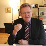 Ulrich von Kirchbach: »Mehr als 1000 Flüchtlinge in der Aufnahmestelle wären nicht akzeptabel.«