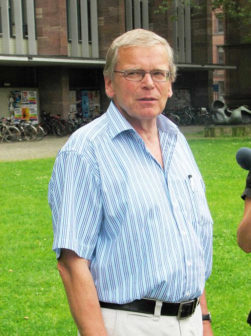 Kritiker:  Helmut Mayer, Leiter  der  Meteorologie an der Uni Freiburg, fordert, das Klima viel stärker in die Stadtplanung miteinzubeziehen.