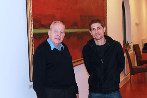 Michael Fleiner und Corin Fischer