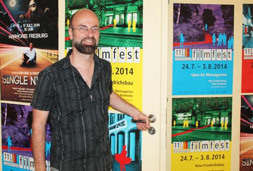 Organisator des Freiburger Filmfests: Ludwig Ammann.