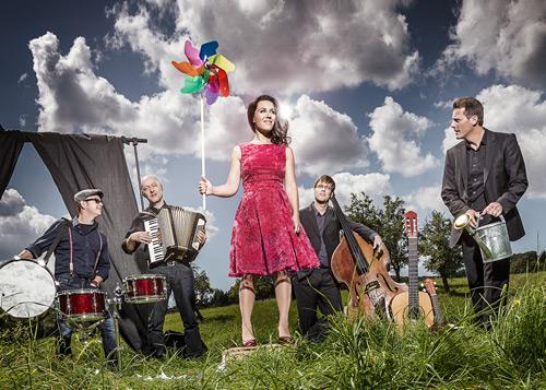Juliette Brousset und die anderen. Bild: Timo Volz