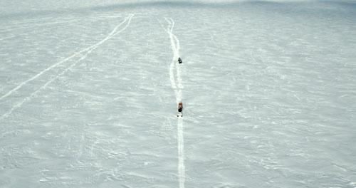 """Die weiße Unendlichkeit des russischen Winters spielt eine Hauptrolle in """"Mädchen im Eis""""."""
