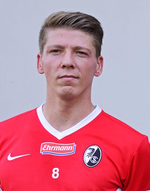 Neuzugang Mike Frantz vom 1. FC Nürnberg