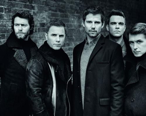 Mark Owen (rechts) feierte 2010 mit seiner Band Take That eine erfolgreiche Wiedervereinigung.