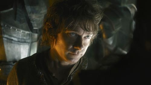 """Die Perücke sei bei den Dreharbeiten zu """"Der Hobbit"""" nicht das Problem gewesen, gesteht Martin Freeman: Die Hobbit-Füße waren schlimmer."""