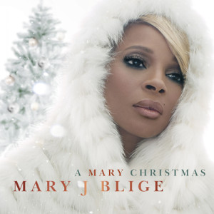 Mary J Blige - A Mary Christmas_cover