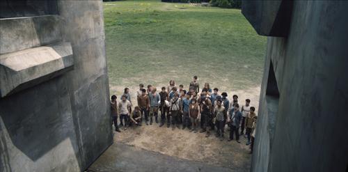 Das steinerne Labyrinth, das sich beständig verändert, stellt die jungen Männer seit drei Jahren vor schier unlösbare Rätsel.