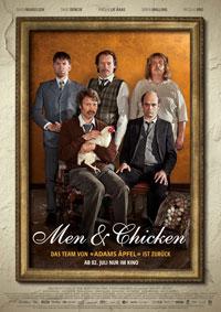 """Eine schrecklich nette Familie: In """"Men & Chicken"""" treffen fünf etwas andere Brüder aufeinander."""