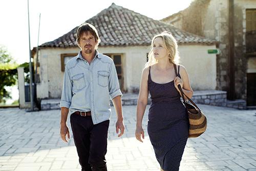 Szene mit Julie Delpy und Ethan Hawke.
