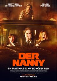 """Fieser Baulöwe engagiert männliche Kinderbetreung: """"Der Nanny"""" heißt die neue Komödie von Schauspieler und Regisseur Matthias Schweighöfer."""