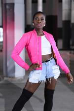 """Sympathisches Energiebündel: Nikeata Thompson (33) ist einer der Gründe für den Erfolg von """"Got To Dance""""."""