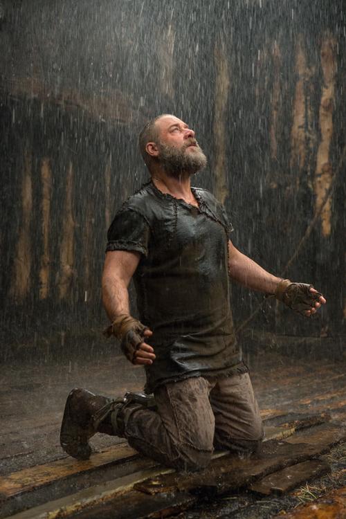 Gottes Plan findet Noah (Russell Crowe) zum Niederknien.