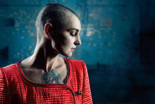 Die irische Rockerin Sinéad O'Connor in Baden-Baden. Foto: Donal Moloney