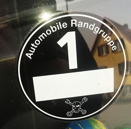 Automobile Randgruppe