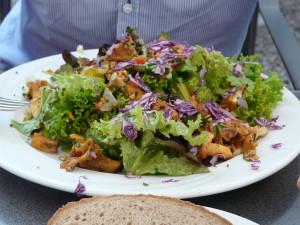 Salat im Buschstüble im Glottertal