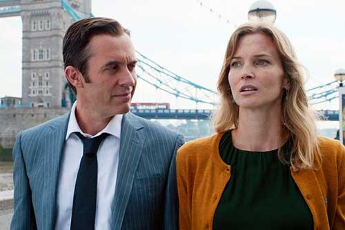 Szene mit Stephen Dillane und Cosima Shaw.