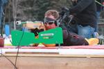 Volle Konzentration auf die Paralympics: Willi Brem beim Tranining am Notschrei.