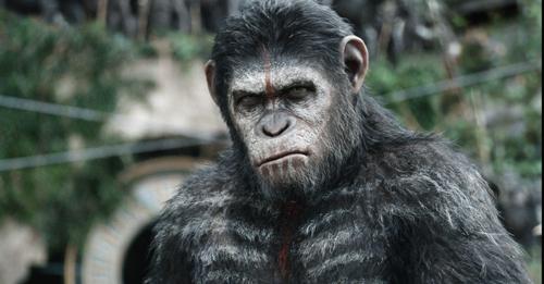 Andy Serkis verleiht dem Affenchef Caesar im Motion-Capture-Verfahren Herz und Seele.