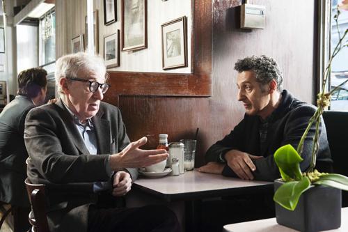 Murray (Woody Allen, links) und Fioravante (John Turturro, rechts) bieten käuflichen Sex für Frauen.