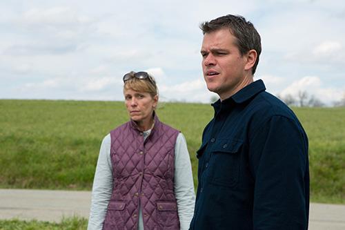 Szene mit Frances McDormand und Matt Damon.
