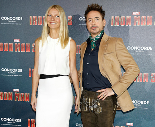 Robert Downey Jr. und Gwyneth Paltrow.
