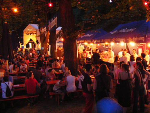 The return of the Party: Das Schlossbergfest steigt wieder.
