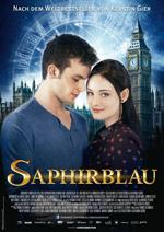 """Nach """"Rubinrot"""" geht die Zeitreise in """"Saphirblau"""" weiter."""