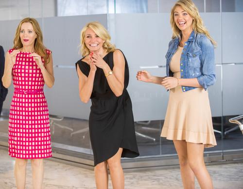 Schadenfreude ist bekanntlich die schönste Freude. So auch für Kate (Leslie Mann, links), Carly (Cameron Diaz, Mitte) und Amber (Kate Upton).