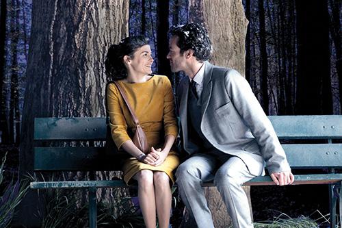 Szene mit Romain Duris und Audrey Tautou.