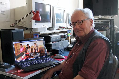 Blick in die Familien: Zwei Jahre lang hat Filmemacher Bodo Kaiser an seiner Dokumentation über Freiburger Sinti und Roma gearbeitet.