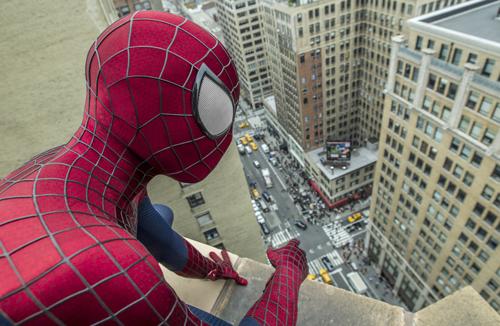 Die New Yorker machen mal wieder eine Menge mit. Zum Glück haben sie ja Spider-Man.